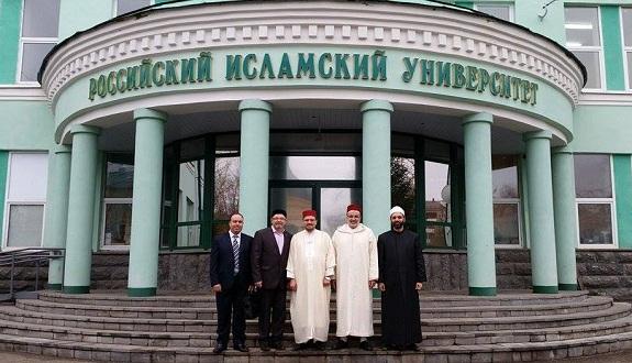 د. محمد الروكي في الجامعة الإسلامية الروسية بقازان عاصمة الجمهورية التترستانية