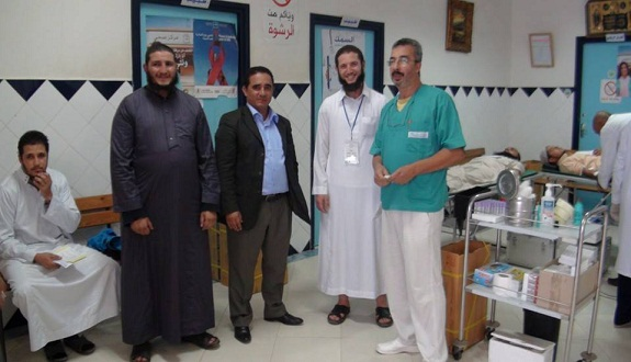 حملة للتبرع بالدم بمركز مولاي عبد الله أمغار بمدينة الجديدة