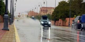 مقاييس الأمطار المسجلة بالمغرب خلال 24 ساعة الماضية