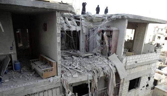 مقتل نساء وأطفال في مجزرة جديدة لقوات الأسد بالغوطة الشرقية