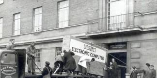 توصيل كمبيوتر سنة 1957م!