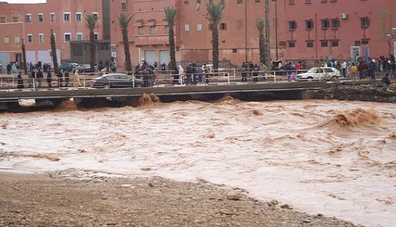 الشروع في عملية تهيئة جوانب وادي أم لعشار لحماية مدينة كلميم من الفيضانات