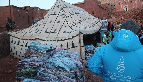500 أسرة بجماعة تلوات إقليم ورزازات استفادت من حملة «الجسد الواحد»