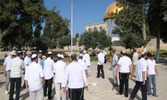 الشرطة الصهيونية تستعد لنزول السيد المسيح