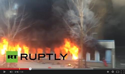 إضرام النار من قبل مجهول في مسجد وسط السويد وقريب من العاصمة ستوكهولم