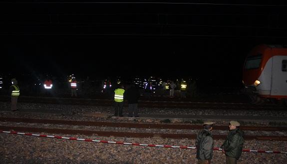 ثالث ضحية للقطار السريع قرب قنطرة وادي الشراط قبل نهاية سنة 2014