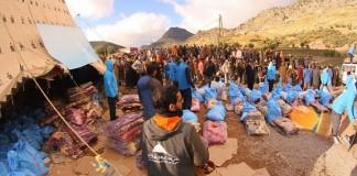 أكثر من 800 أسرة استفادت من حملة لننعم جميعا بالدفء بجماعة مغراوة إقليم تازة