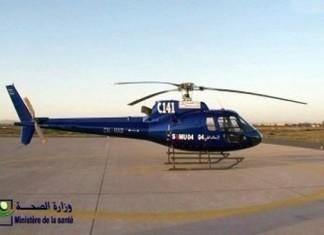 وزارة الصحة : التنقلات الاستعجالية بواسطة المروحيات الطبية مجانية