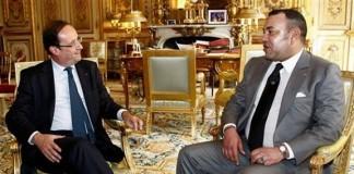 الملك سافر إلى فرنسا أمس الجمعة في ظل توتر العلاقة بين البلدين