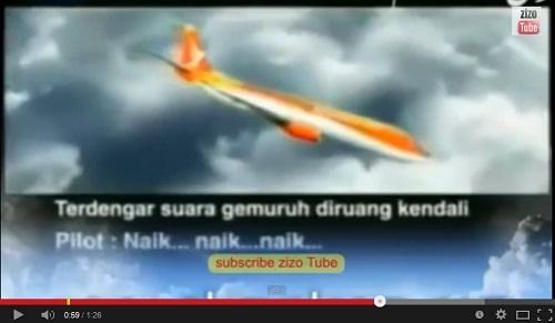 لحظة سقوط الطائرة الماليزية وسماع تكبير الطيار: الله أكبر..