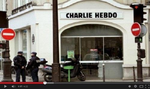 الصحفية زينب الغزوي لفرانس24 العدد الجديد لشارلي إيبدو به سخرية من الله