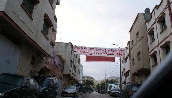 ساكنة حي يعقوب المنصور بالرباط يرفضون تثبيت لاقط هوائي الاتصالات بحيهم