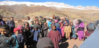 عامل إقليم تنغير في زيارة تفقدية لاوزيغيمت للاطمئنان على الساكنة