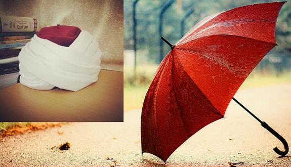 كلمة في العمامة والمظلة الأندلسية لشيخنا محمد الأمين بوخبزة حفظه الله