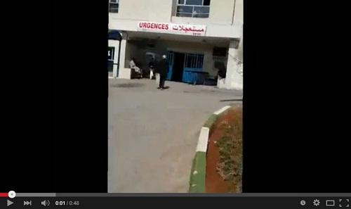 شهادة من مستشفى مولاي عبد الله، تؤكد عدم استقبالهم لأية ضحية للمنقبة الإشاعة..