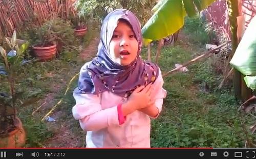 الصغيرة أروى تعلق على حادث القراء في بن احمد وفاجعة طانطان -رحم الله ضحاياهما-