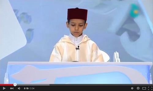 عبد الرحمان وراش الحاصل على المرتبة الثالثة في قطر 2015
