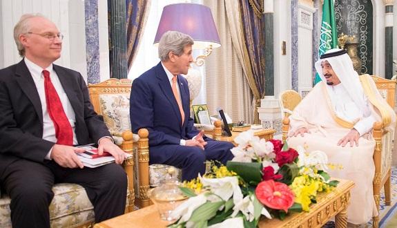 تفاصيل لقاءات وزير الخارجية الأمريكي «جون كيري» بالمملكة السعودية