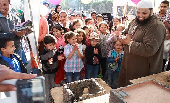 مشاركة مؤسسة عطاء في أسبوع النصرة بمدينة الجديدة واحتضان معرض السيرة