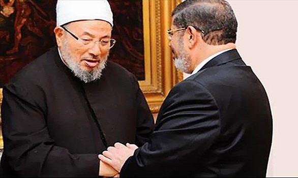 إحالة أوراق الرئيس مرسي والشيخ القرضاوي وقيادات الإخوان إلى المفتي