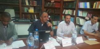 هوية بريس - عبد المجيد بن عينوس الإثنين 18 ماي 2015 انعقدت أمس الأحد 17ماي 2015 برحاب مركز طارق بن زياد للدراسات والأبحاث بالرشيدية ندوة وطنية حول موضوع: