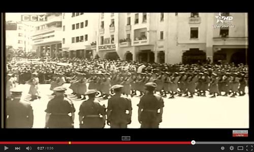 القوات المسلحة الملكية المغربية سنة 1956