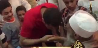 احترام الناس لفضيلة الشيخ أبي إسحاق الحويني
