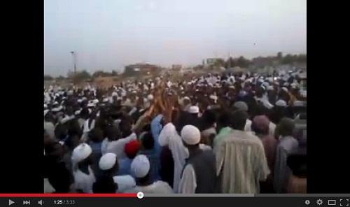 دفن الشيخ أبو زيد محمد حمزة رئيس «جماعة أنصار السنة المحمّدية بالسودان»