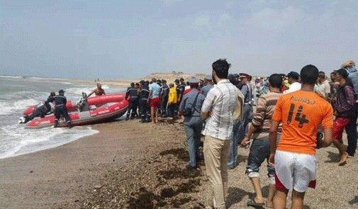 عمليات البحث مازالت متواصلة للعثور على 5 أطفال مفقودين بشاطئ واد الشراط