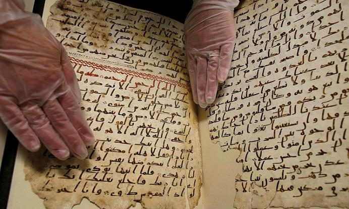 بالصور.. تعرف على العراقي الذي نقل «أقدم مخطوط قرآني» إلى بريطانيا
