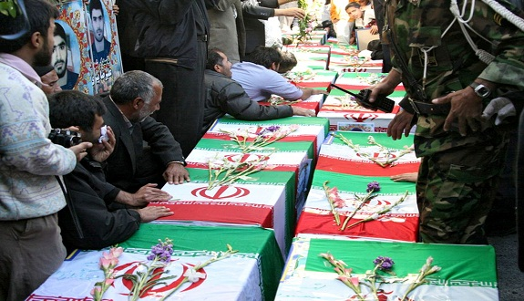 مصرع 21 عسكريًا من الحرس الثوري الإيراني في سوريا