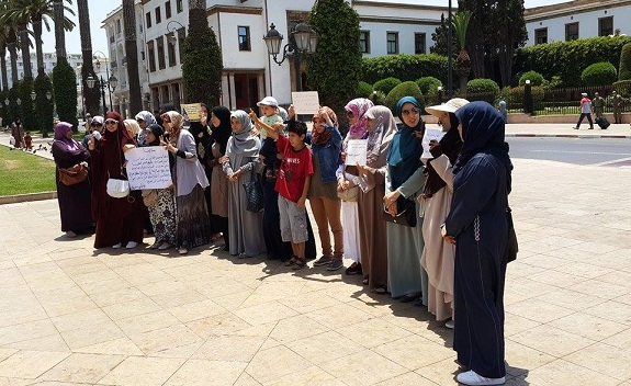 وقفة للدفاع عن الحجاب وتمكين المحجبات من حقوقهن.. أمام البرلمان بالرباط