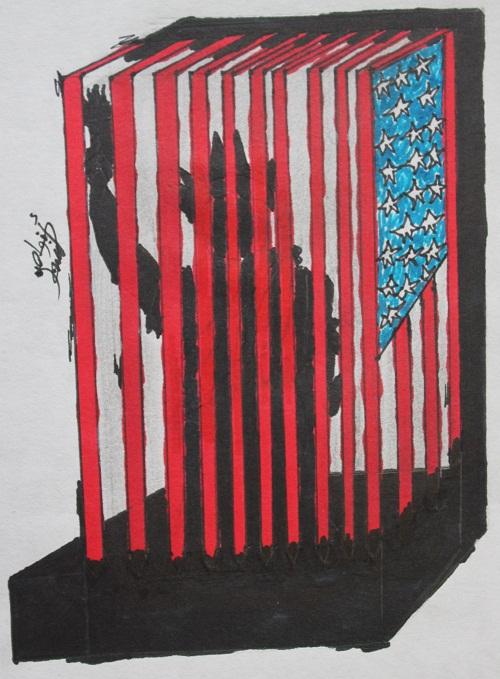 الحرية المسجونة