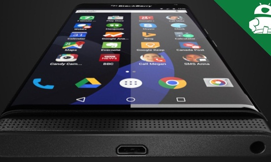شاهد.. صورا مسربة لهاتف «BlackBerry» الجديد