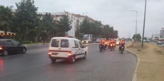 سلا: تجول موكب بوليسي في الأحياء لبث الأمن