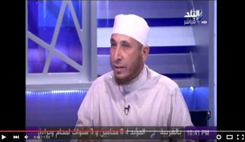 خناقة بين أحمد موسى وشيخ سلفي وطرده له على الهواء