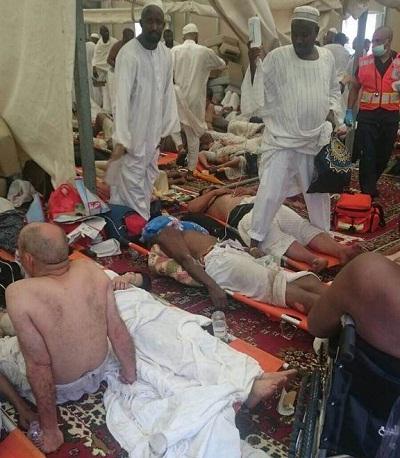حصيلة جديدة: 717 وفاة و805 إصابة في حادث التدافع بمنى