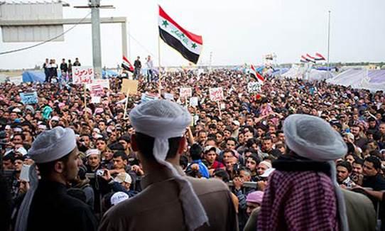 تزايد المطالب الشعبية بإنشاء إقليم سني في العراق