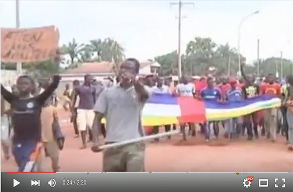 مظاهرات في إفريقيا الوسطى على خلفية مقتل رجل مسلم