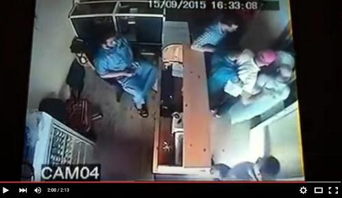 لحظة إلقاء القبض على مستشار البام معيوف بعد أربع ساعات من فوزه