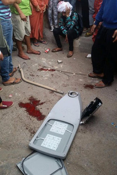 سقوط أعمدة كهربائية على رؤوس المواطنين بمدينة سلا