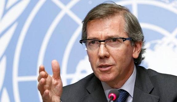 برناردينو ليون يعلن بالصخيرات عن قائمة بأسماء حكومة الوحدة الوطنية الليبية