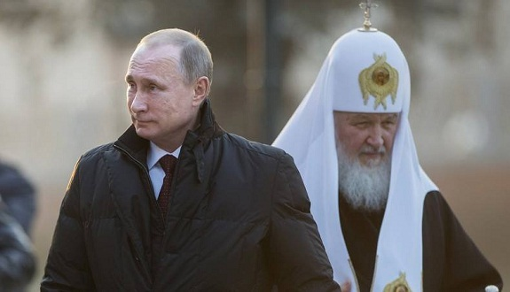 أخيرا... الكنيسة الروسية الحاقدة تعلن الحرب المقدسة على المسلمين في سوريا