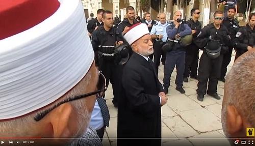 مفتي القدس يفتي بتحريم تسهيل تمليك القدس وأرض فلسطين للاحتلال الصهيوني