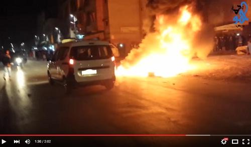 صدمة الساكنة: شعايلة خطيرة وسط شارع بحي سيدي موسى بسلا