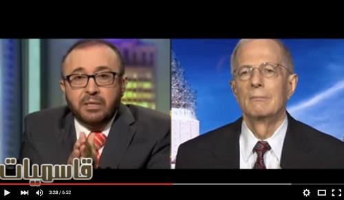 القاسم يكشف حقائق خطيرة عن أمريكا ويصرخ «بشار الأسد بتاعكم»