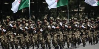 الجزائر تستعرض قدراتها العسكرية بالمنطقة الحدودية مع المغرب