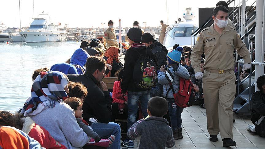 تركيا.. إنقاذ 58 مهاجراً عقب إغراق خفر السواحل اليوناني قاربهم
