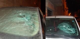 تهشيم وتخريب السيارات ليلة رأس السنة بأكادير