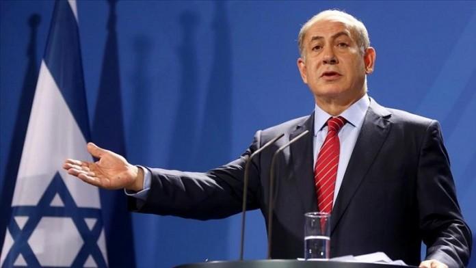 المجرم نتنياهو يحاول الدفاع عن مجزرة الجيش الصهيوني بغزة
